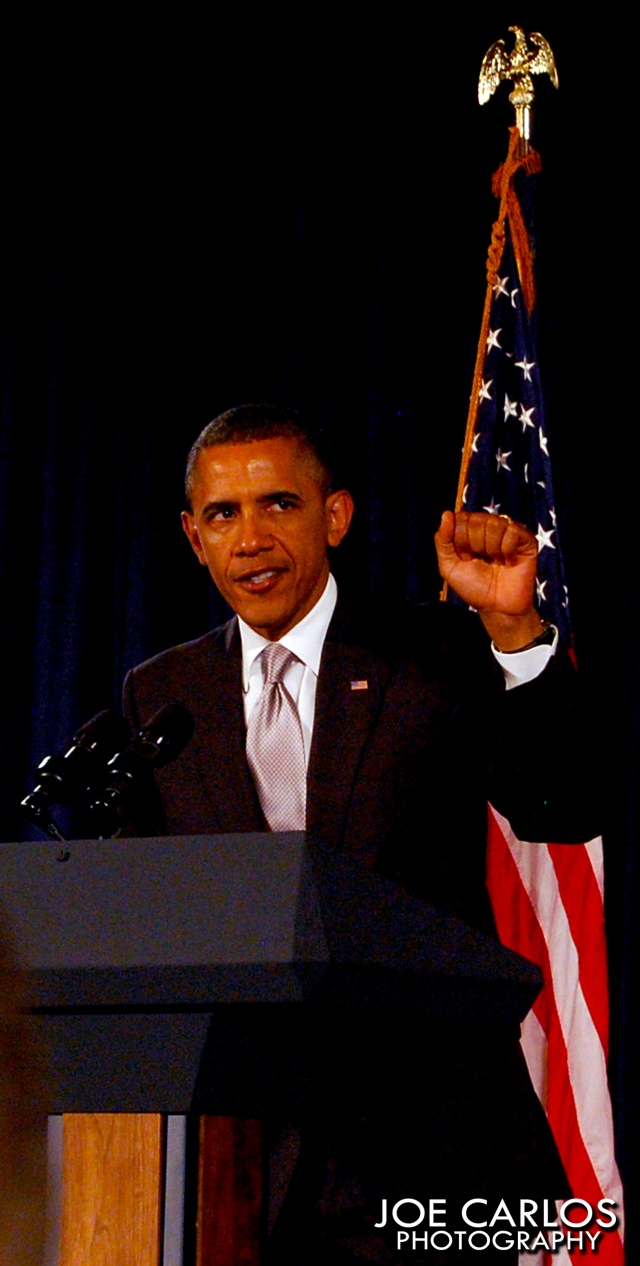 President Barack Obama Power Fist